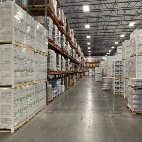 Interior of Certified Logistics, Inc. Warehousing, Distribution & 3PL Services